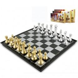 jeu d'échecs magnétique pliant
