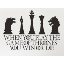 Stickers Jeux d'échec Game of Thrones