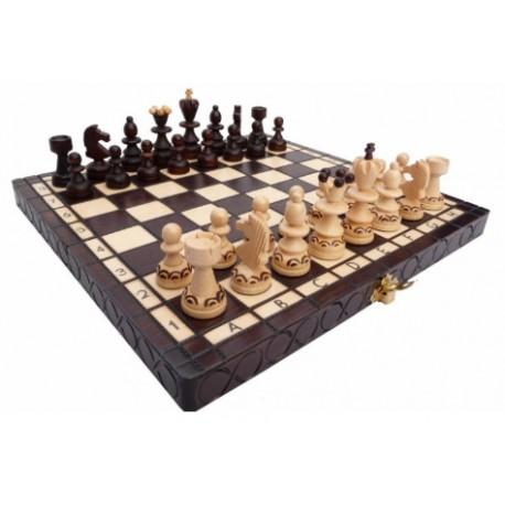 jeu d'échec original en bois