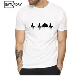 T shirt jeu d'échec fréquence cardiaque